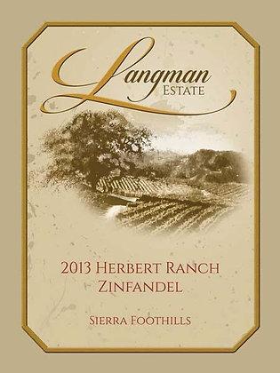 2013 Herbert Ranch Zinfandel