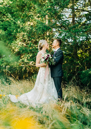 Wedding Photos in the Forest