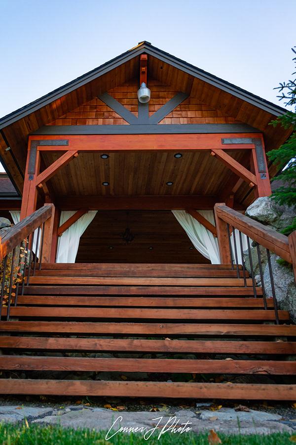 pavilion stairs