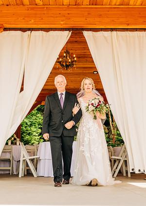 Pavilion Bride Entrance