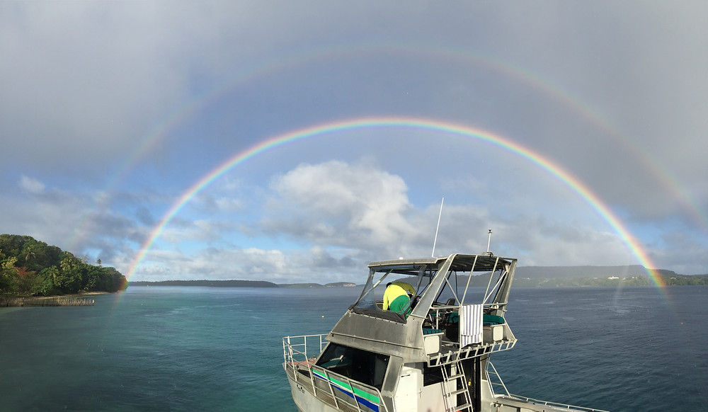 Boat Tonga Rainbows