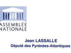 Lettre de Jean Lassalle au Procureur de la République du Tribunal de Nîmes