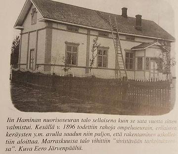 Iin Haminan nuorisoseuran talo 1896