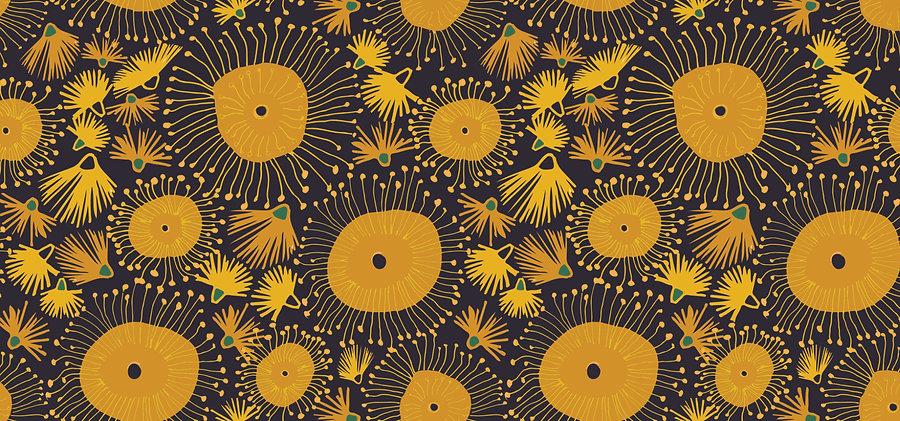 Wattle floral