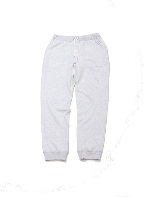 REGULAR FIT LOOPWHEEL FULL LENGTH PANTS(ホワイト杢)