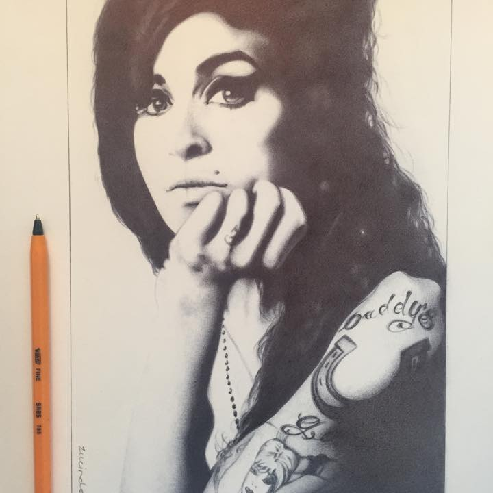 Commission - Amy Winehouse