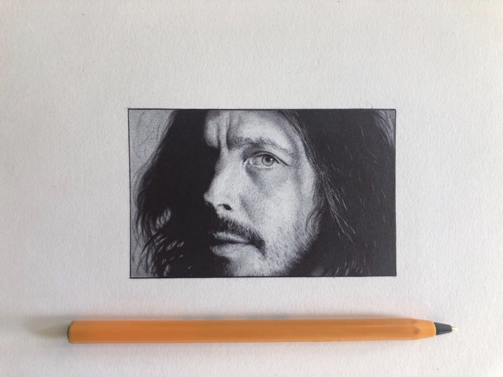 Commission - Chris Cornell
