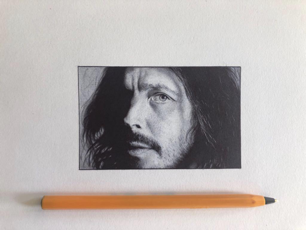 Commission - Chris Cornell