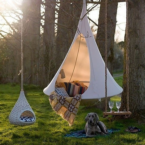 Adults or Kids Camping Teepee Tree Hammock - Tree Swing - Indoor or Outdoor