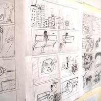Exercice de story-board