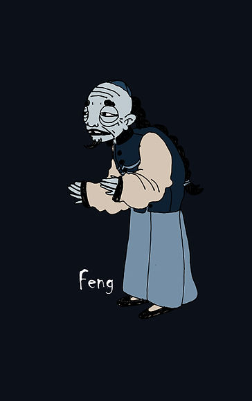 Feng personnage de Prodiges BD
