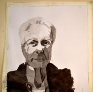 Portrait au lavis