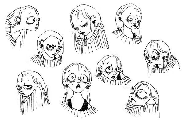 Expressions de Jeanne recherches graphiques