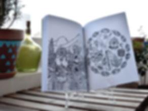 livre de coloriages une fée en voyage inde elsa b.