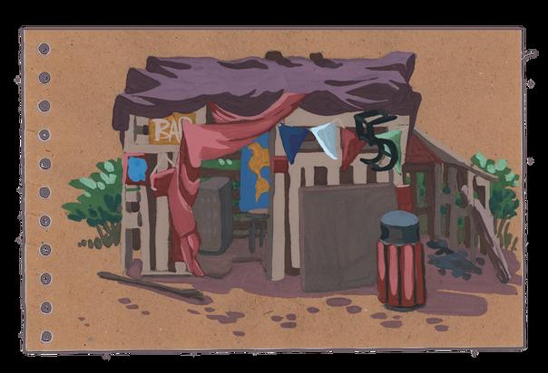 La cabane des grands