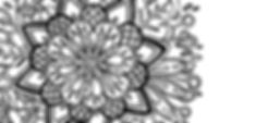 Mandala fleur coloriages fée