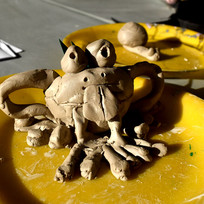 Modelage grenouille