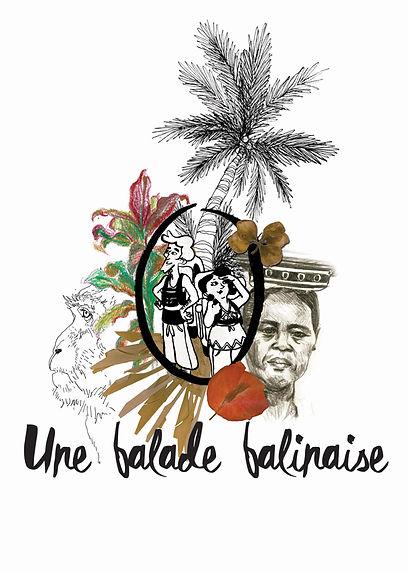 Couverture BD Bali carnet de voyage