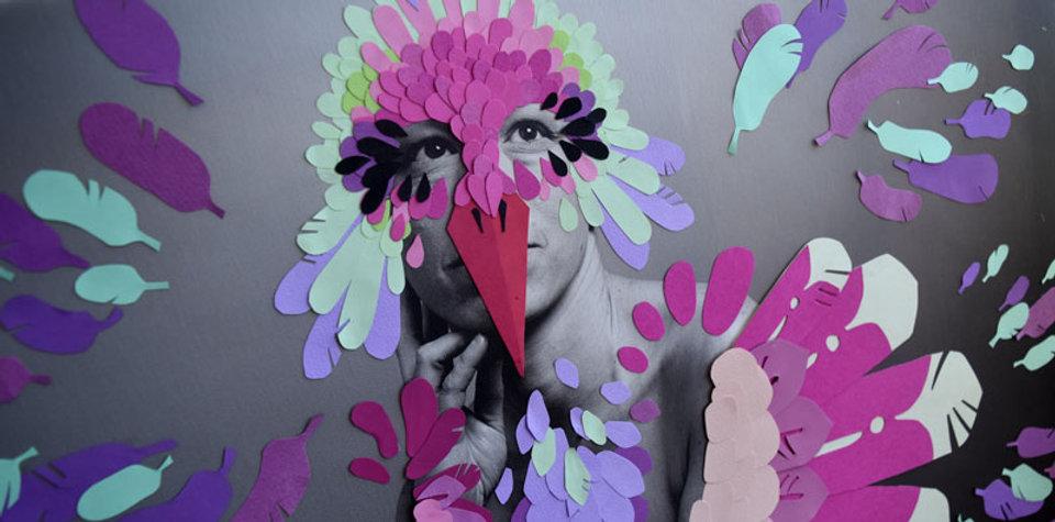 projet vénus liberté oiseau papier découpé