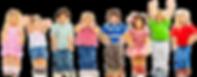 TK-K Kids with white background