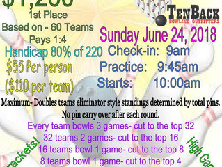 TenBack Eliminator Doubles Tournament