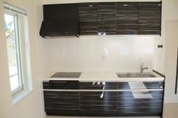 人工大理石天板キッチン 2-0-2