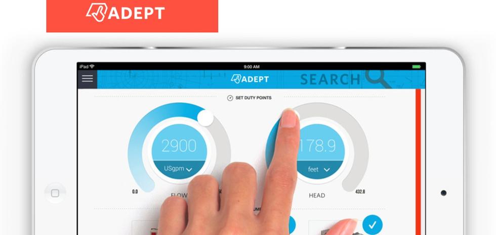 ADEPT iPad App and Responsive Web