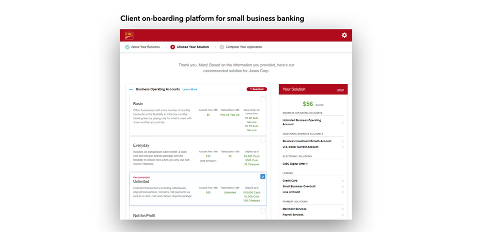 Omni Channel Client Onboarding