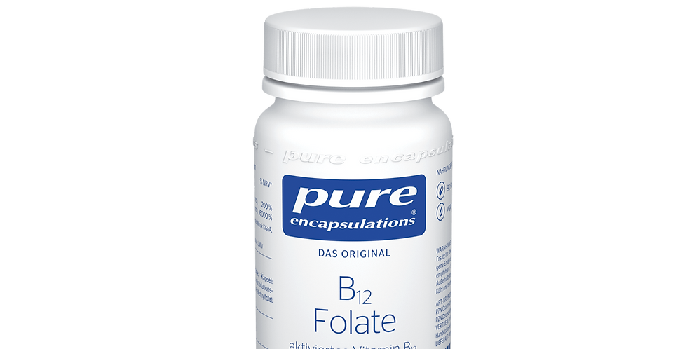 B12 Folate  Витамин B12 и фолиевая кислота