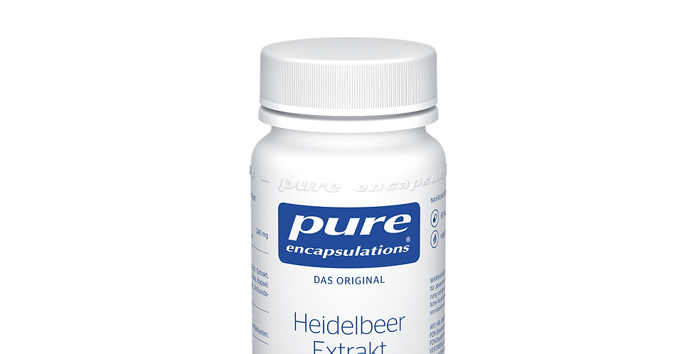 Heidelbeer Extrakt 80 mg  Экстракт черники 80 мг