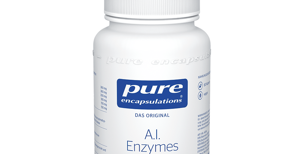 A.I.Enzymes  Комбинация ферментов бромелайна и папаина