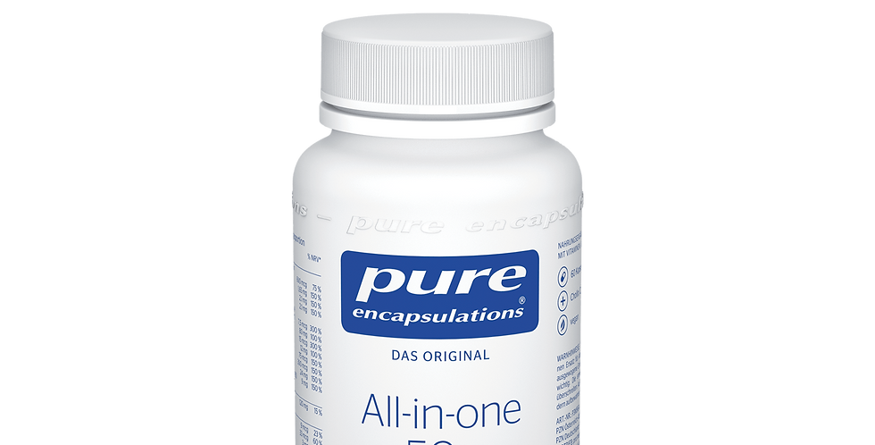 All-in-one 50+  Витаминный комплекс «все в одном» 50+