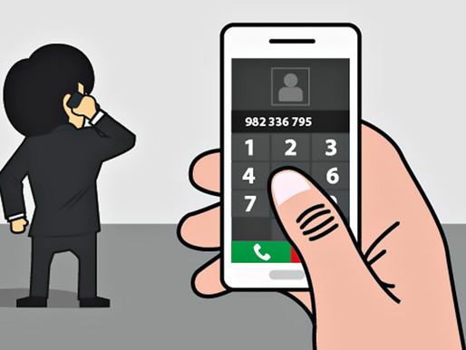 ¿Qué debo de hacer si recibo una llamada de extorsión?