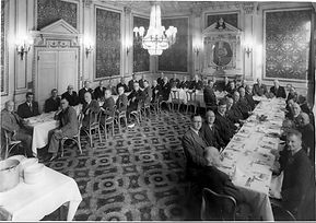 c19cm at dinner, date unknown, from dbw.