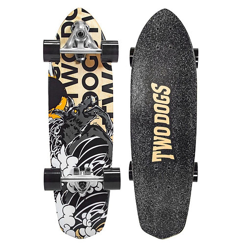 SKATE SIMULADOR DE SURF TWO DOGS - DOG STORM - TD-SS103
