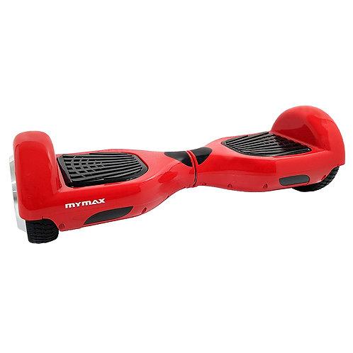 Hoverboard 6,5 pol Skate Elétrico Vermelho Bateria Samsung