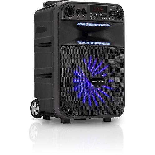 Caixa Portátil Bluetooth/MicroSD/USB/FM 200W GO!POWER 300