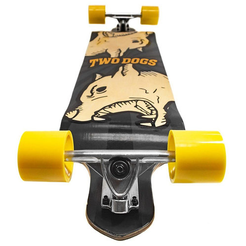 SKATE LONGBOARD LOW GRAVITY TWO DOGS - MAD DOG - TD-LB200