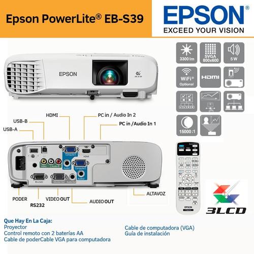 proyector-epson-powerlite-s39-3300-lumen
