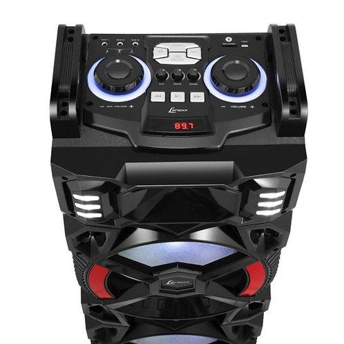 Caixa Amplificada Lenoxx CA4000 1200 Watts e Bluetooth
