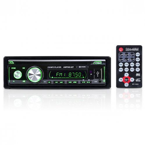 SOM AUTOMOTIVO  MP3 PLAYER USB/SD/FM/AUX/BLUETOOTH C/CONTROLE