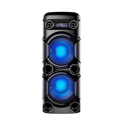 Mini Torre Multilaser 900W - SP380 com Bluetooth/fm