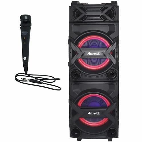Caixa Amplificada Amvox ACA 1002 Trovão 1000 w