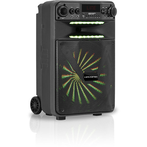 Caixa Multiuso Portátil Bluetooth/MicroSD/USB/FM 100W GO!POWER 200