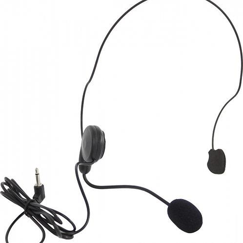 MICROFONE SEM FIO SKP PROFISSIONAL UHF HEADSET MINI-V