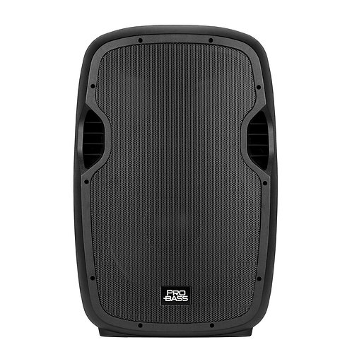 Caixa Amplificada Novik PRO BASS ELEVATE 115, 800W, Bluetooth