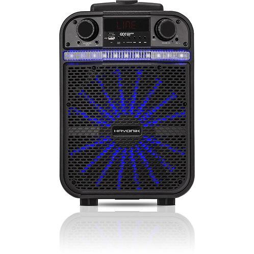 Caixa Portátil Bluetooth/MicroSD/USB/FM 80W GO!POWER 100