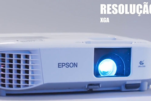 PROJETOR EPSON POWER LITE X39 XGA / 3500 LUMENS