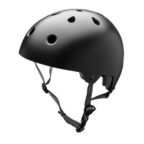 Capacete Para Skate Bike Hoverboard  - Preto Preto