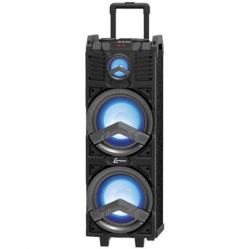 "Caixa Amplificada Lenoxx CA500 500W 2x8"", Bluetooth/USB/MIC"